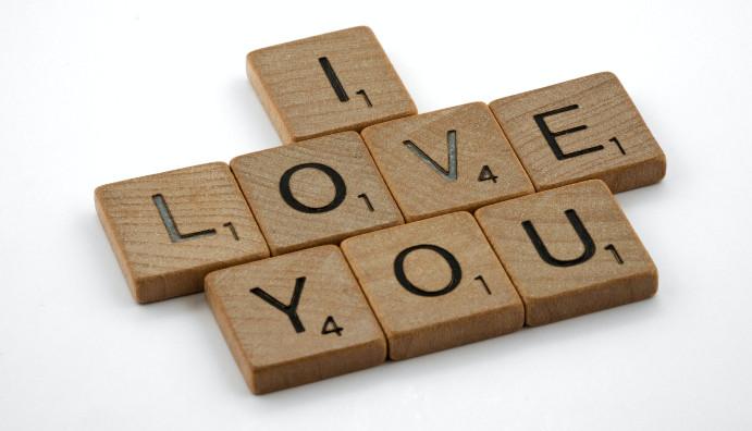 Love you in Arabic