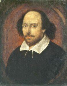 Shakespeare retrato