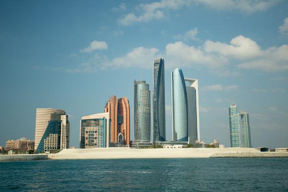 Towers in abu dhabi globalization