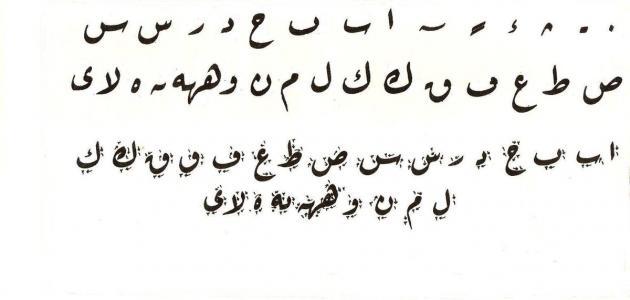 Arabic Letters in Ra'qa